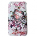 Cover Ed Hardy & Christian Audigier for iPhone 3G/3GS LKS White