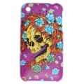 Cover Ed Hardy & Christian Audigier for iPhone 3G/3GS Flower Skull Pink