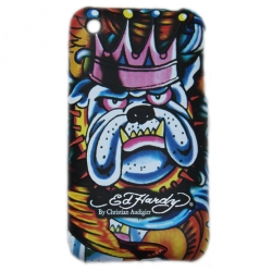 Cover Ed Hardy & Christian Audigier for iPhone 3G/3GS King Dog