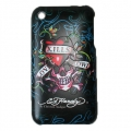 Cover Ed Hardy & Christian Audigier for iPhone 3G/3GS LKS Black