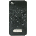Ed Hardy Executive Case Love Kills Slowly Black for iPhone 4 (EH3243)