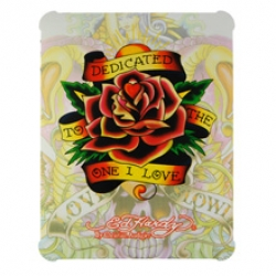 Hard Cover Ed Hardy Deticated To The One I Love for iPad
