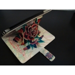 Leather Case Ed Hardy Deticated To The One I Love for iPad