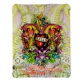 Hard Cover Ed Hardy LKS Double Reptile for iPad