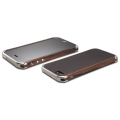 Element Case Ronin FE for iPhone 5, 5S - Silver Anodized CNC Aluminum Caps (API5-1112-S6SS)