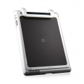 Esoterism Moat-2 Multi-Functional Handle Aluminum Case for iPad 4, iPad 3, iPad 2 - Silver