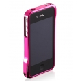 Esoterism Aluminum Moat-4 Ladies iPhone 4, 4S - Peach Glamur