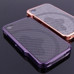 Esoterism Carbon Fiber Black Plate for iPhone 4, 4S - Opus Noir