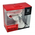 Exogear ExoMount 2 for iPhones & iPods - White