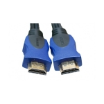 ExtraDigital Video Cable HDMI to HDMI, 3m, Double ferrites, nylon, позолоченные коннекторы, Blister