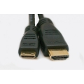 ExtraDigital Video Cable Mini HDMI to HDMI, 0.5m, позолоченные коннекторы, 1.3V