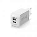 Gear4 Home Charger Dual (2.1А + 1A) for iPad, iPhone, iPod (PG737)