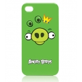 Angry Birds Protective Case Green Pig for iPhone 4, 4S (ICAB403G)