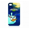 Angry Birds Protective Case Space Bird Ice for iPhone 4, 4S (ICAS403G)