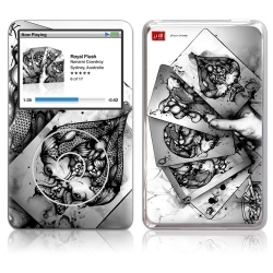 GelaSkins Royal Flush for iPod Classic