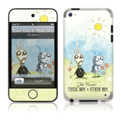 GelaSkins Toxic Boy & Stain Boy for iPod Touch 4G