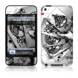 GelaSkins Royal Flush for iPod Touch 4G