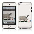 GelaSkins Sad Rhino for iPod Touch 4G
