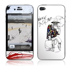 GelaSkins Dr.Gonzo for iPhone 4