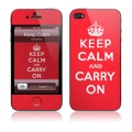 GelaSkins Keep Calm for iPhone 4