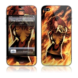 GelaSkins The Dark Phoenix for iPhone 4