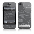 GelaSkins Africa Map for iPhone 4