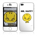 GelaSkins Mr. Happy for iPhone 4