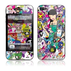 GelaSkins Discoteca for iPhone 4