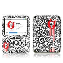 GelaSkins Monster for iPod Nano 3G