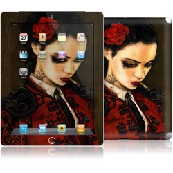 GelaSkins Bull Fight Her for iPad 4, iPad 3, iPad 2