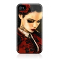 Gelaskins Hard Case Bull Fight Her for iPhone 4, 4S