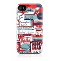 Gelaskins Hard Case London Words for iPhone 4, 4S