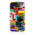 Gelaskins Hard Case NYC Words for iPhone 4, 4S
