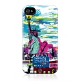 Gelaskins Hard Case New York Skyline for iPhone 4, 4S