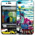 Gelaskins New York Skyline for iPhone 4, 4S