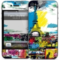 Gelaskins Paris Skyline for iPhone 4, 4S
