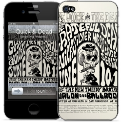 Gelaskins The Quick And The Dead for iPhone 4, 4S