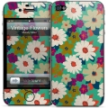 Gelaskins Vintage Flowers for iPhone 4, 4S