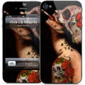 Gelaskins Viva La Muerte for iPhone 4, 4S