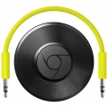 Мультимедийный Wi-Fi плеер Google Chromecast 2, Audio - черный (RUX-J42)
