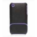 Griffin Elan Form Black/Purple for iPhone 3G, 3GS (GB01378)