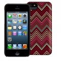 Griffin Chevron Hard Shell Case for iPhone 5, 5S, Ruby (GB35560)