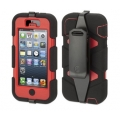 Griffin Survivor Red/Black for iPhone 5, 5S (GB35686)