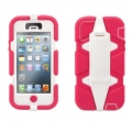Griffin Survivor Pink&White for iPhone 5, 5S (GB35679)