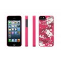 Griffin Pixel Crash Pink for iPhone 5, 5S (GB36104)