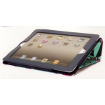 Griffin Elan Folio Teal Flowers with Stand for iPad 2 (GB02586)