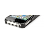 Griffin Elan Form Black Leather for iPhone 4, 4S (GB01763)