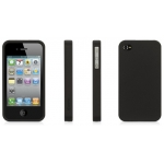 Griffin Outfit Ice Jet Black for iPhone 4, 4S (GB01742)