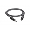 Griffin Auxiliary Audio Cable Black 1.8m for iPad/iPhone/iPod (GC17062)