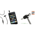Griffin HandsFree AUX Cable Black for iPhone 4/3G/3GS (GC17090)